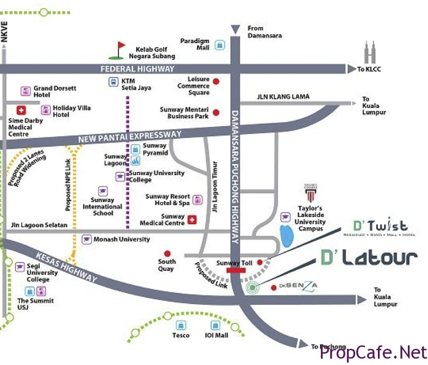 D U0026 39 Latour - Dk City   Bandar Sunway