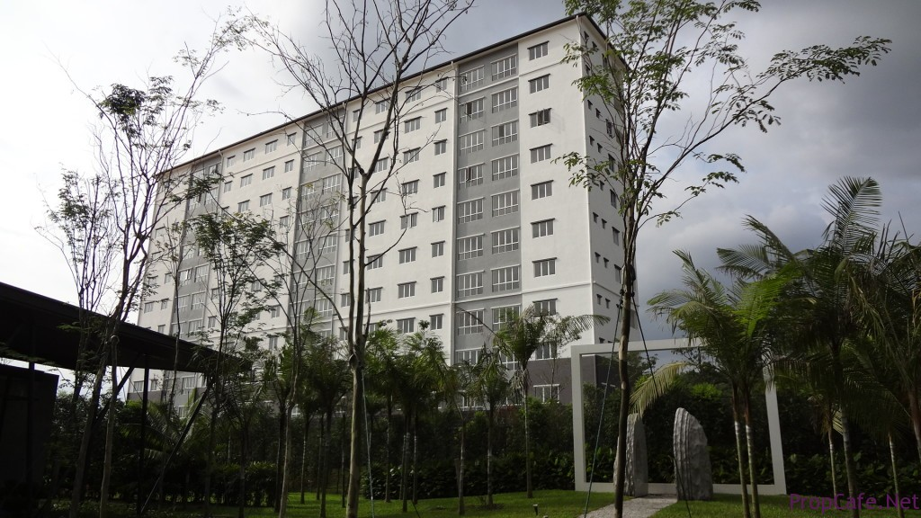 The current existence apartment near to Block C
